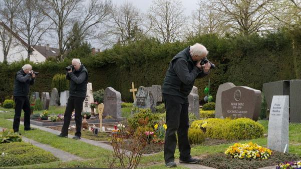 Arbeitsbericht eines erfahrenen Grabstein-Fotografen